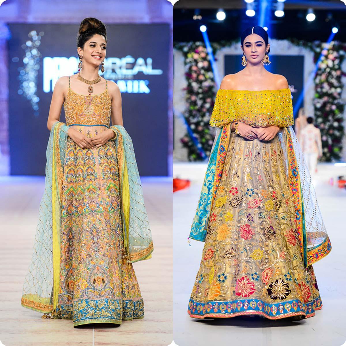 Nomi Ansari Bridal Wear Collection Ft-Junaid Khan & Maya Ali 2016-17 (3)