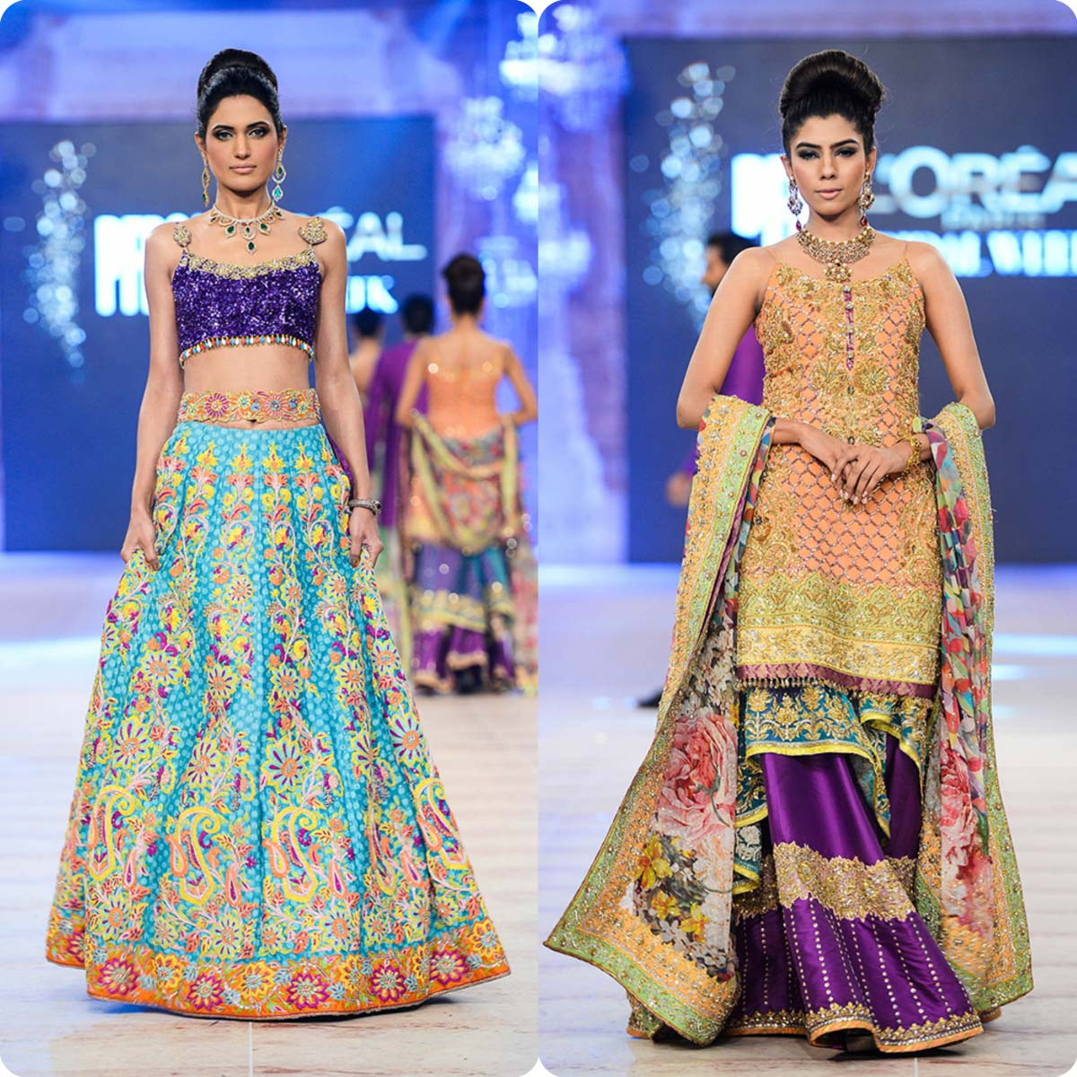 Nomi Ansari Bridal Wear Collection Ft-Junaid Khan & Maya Ali 2016-17 (4)