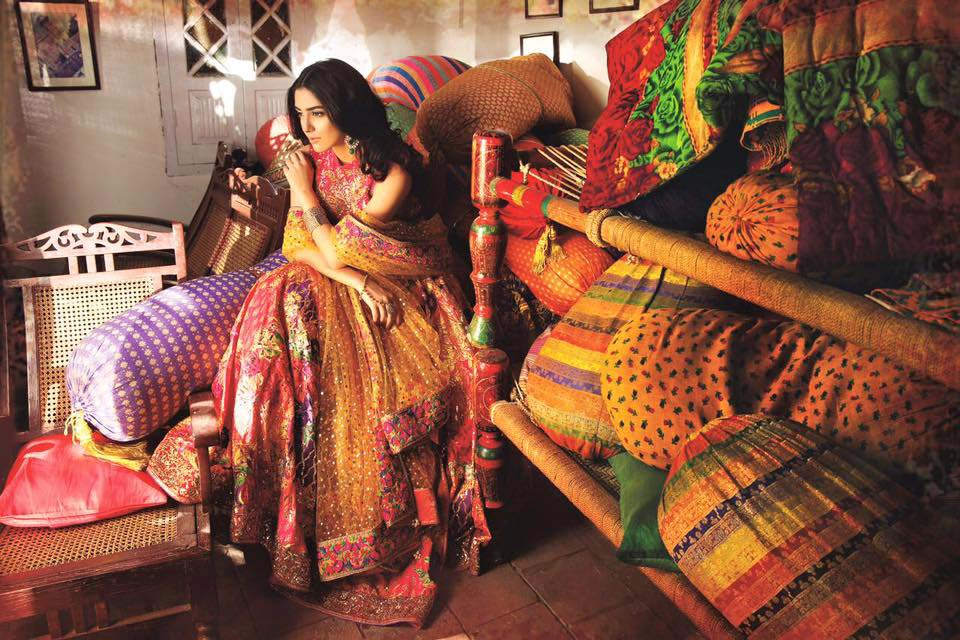 Maya Ali bridal wear Collection