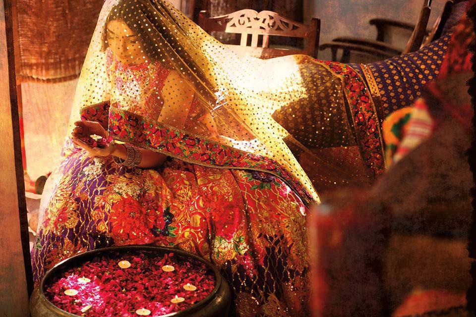 Nomi Ansari Bridal Wear Collection Ft-Junaid & Maya 2016-17 (2)