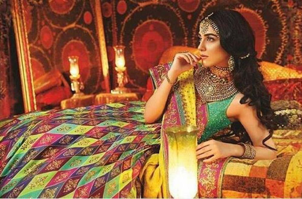 Nomi Ansari Bridal Wear Collection Ft-Junaid & Maya 2016-17 (3)