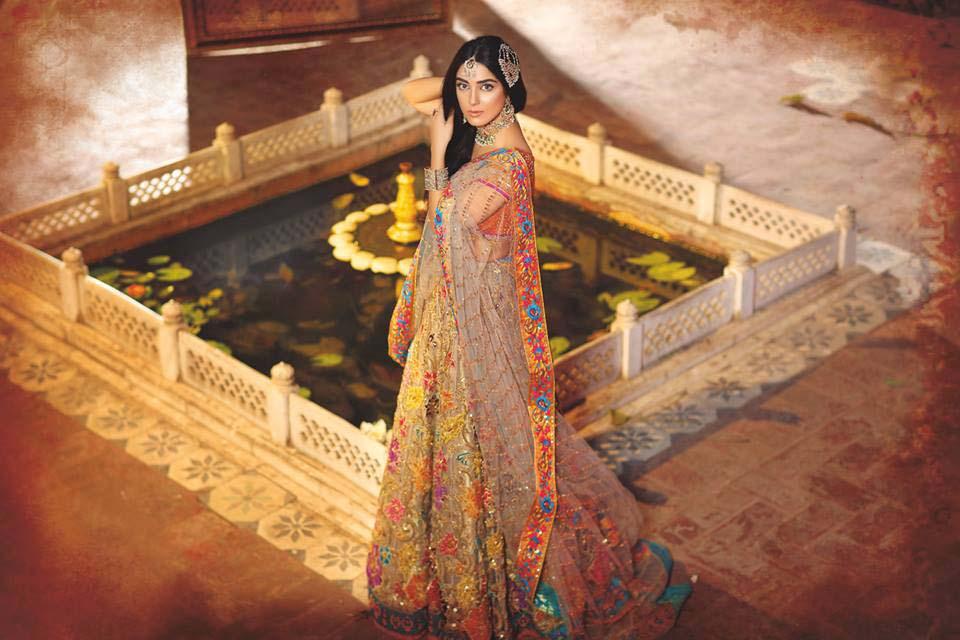 Nomi Ansari Bridal Wear Collection Ft-Junaid & Maya 2016-17 (7)