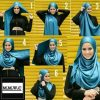 Top 20 latest And Stylish Hijab Tutorial For Girls 2016-2017 (19)