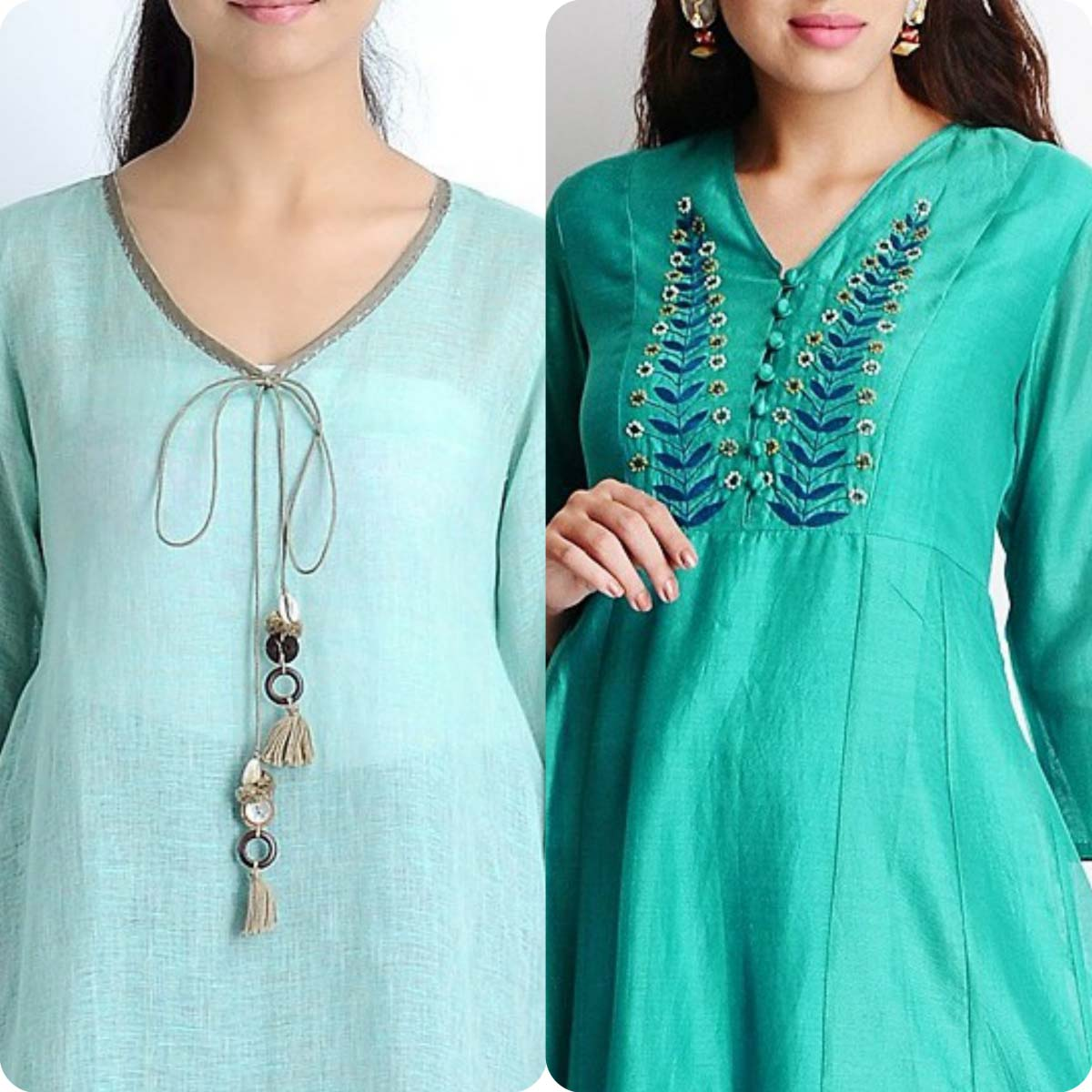 Shirts Neckline/Gala Design Collection