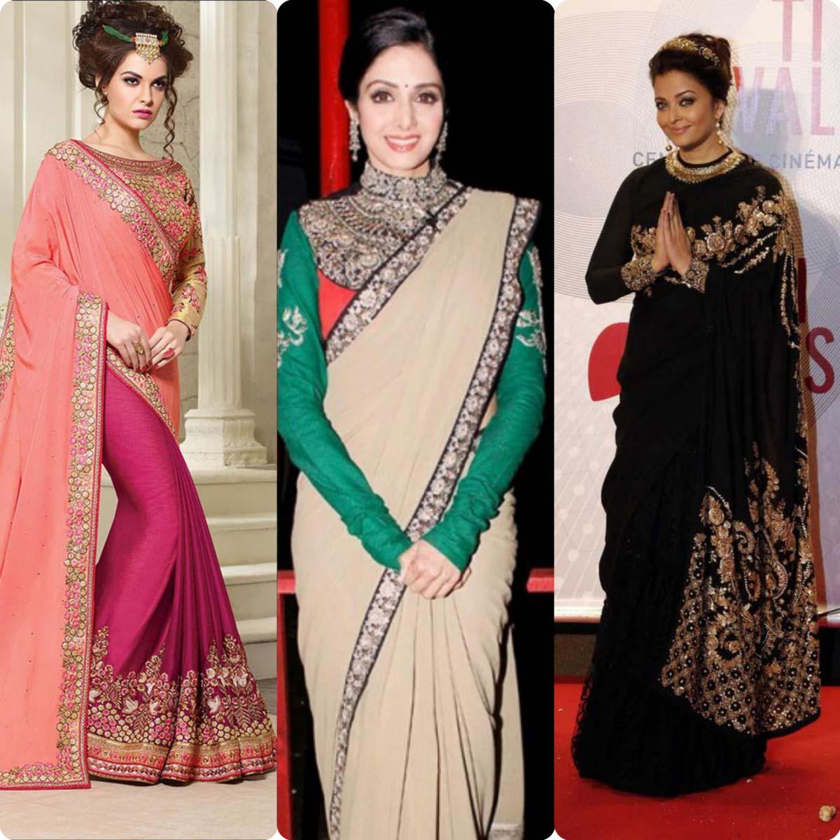 Stylish Saree Blouse Designs 2016 Latest Stylo