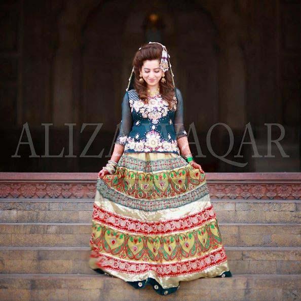 Beautiful Bridal Barat Dresses Designs Collection 2016-2017 for Wedding Brides (13)