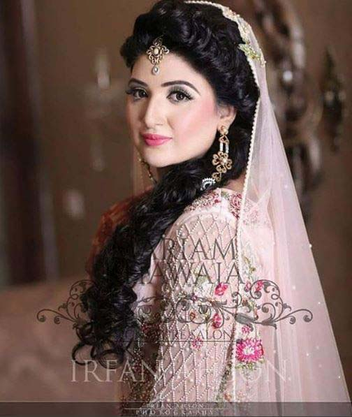 Beautiful Bridal Barat Dresses Designs Collection 2016-2017 for Wedding Brides (23)