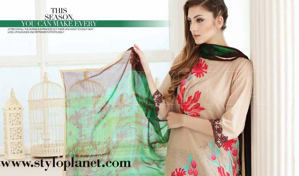 Charizma Embroidered Eid Dresses