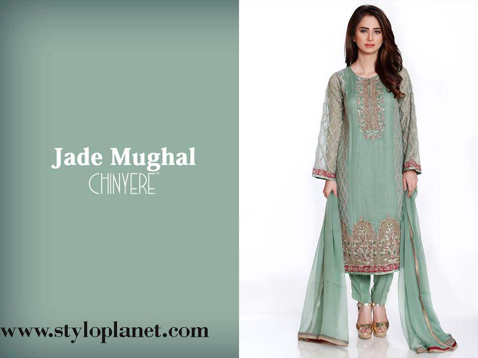Chinyere Latest Eid Dresses Designs & Accessories Collection 2016-2017 (16)