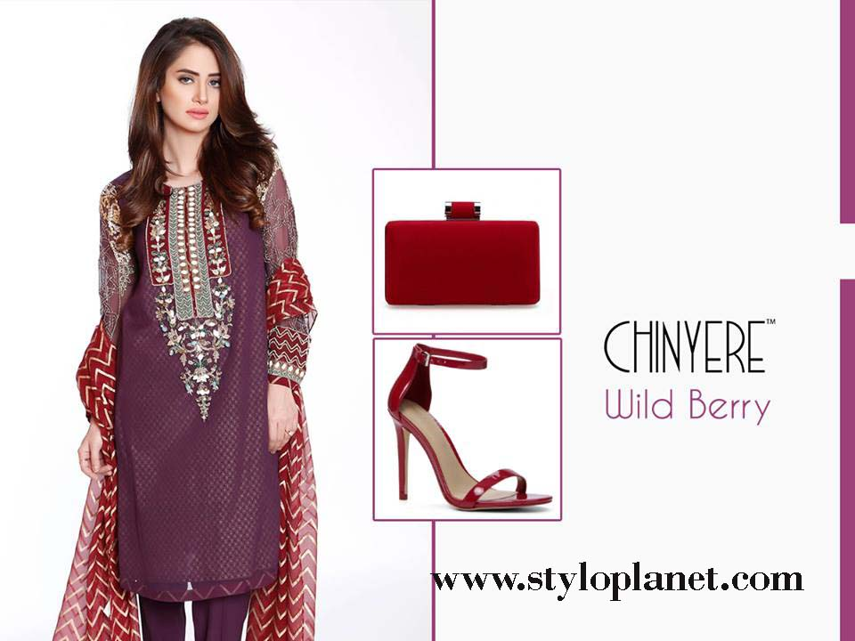Chinyere Latest Eid Dresses Designs & Accessories Collection 2016-2017 (2)