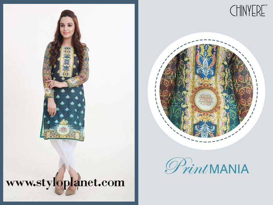 Chinyere Latest Eid Dresses Designs & Accessories Collection 2016-2017 (3)