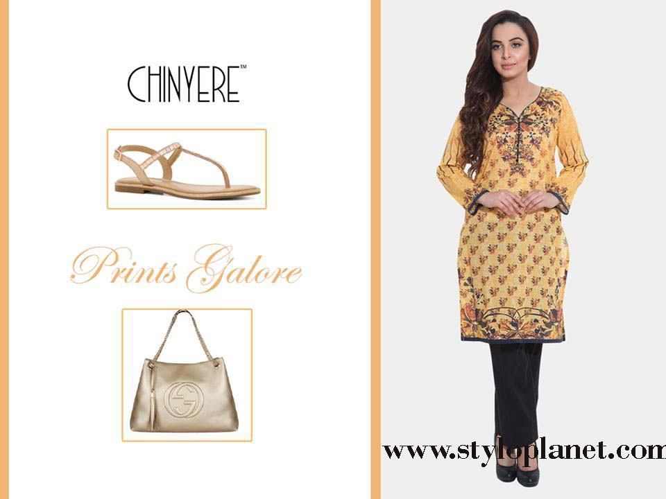 Chinyere Latest Eid Dresses Designs & Accessories Collection 2016-2017 (4)