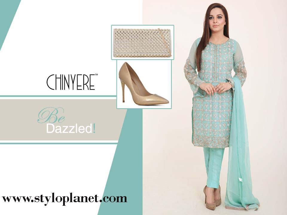 Chinyere Latest Eid Dresses Designs & Accessories Collection 2016-2017 (7)