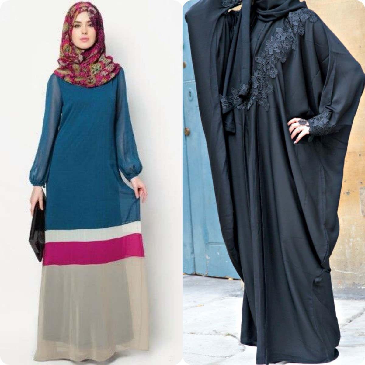 Lace Abaya Designs Latest Collection 2016-2016 for Women (15)