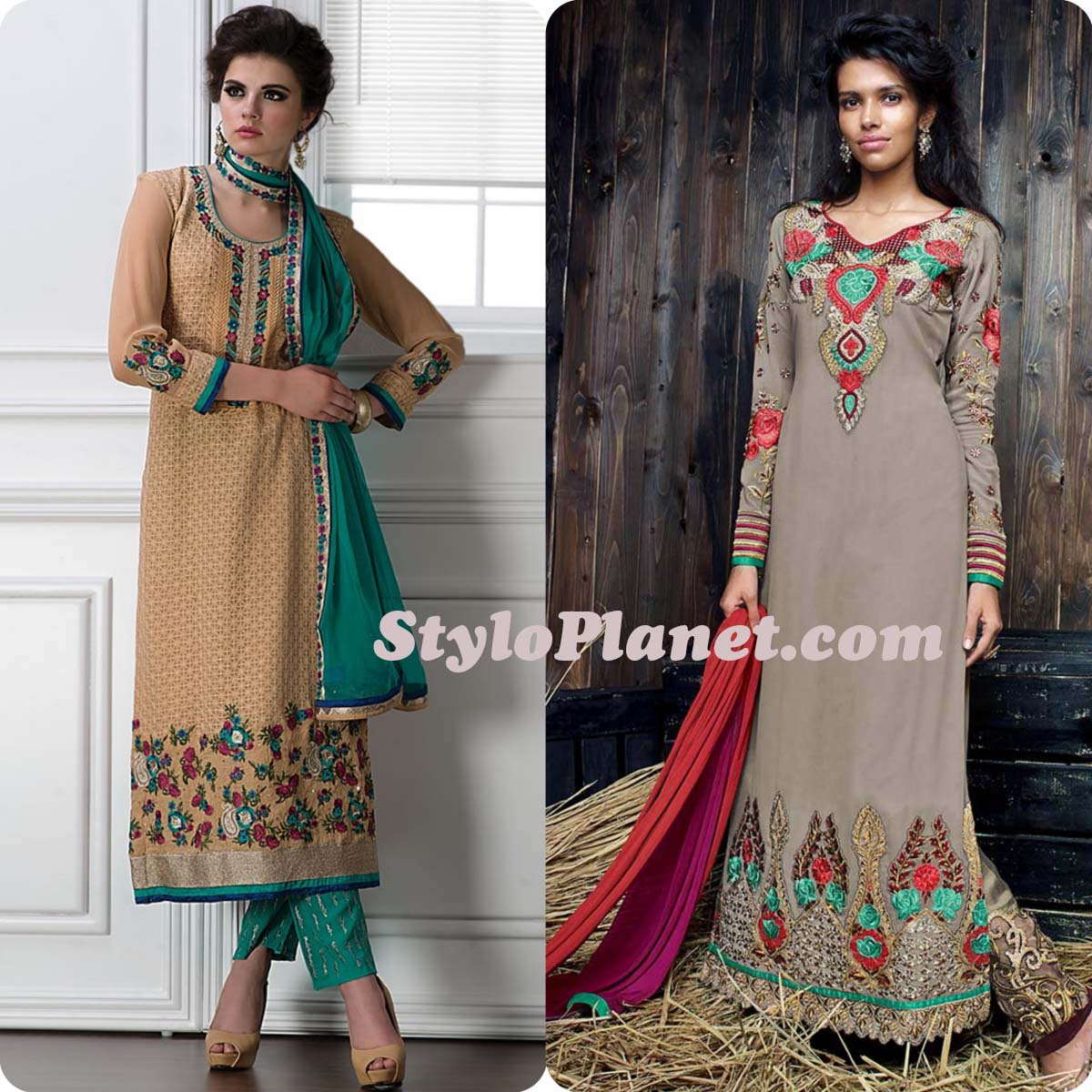 Latest Casual Wear Dresses Design
