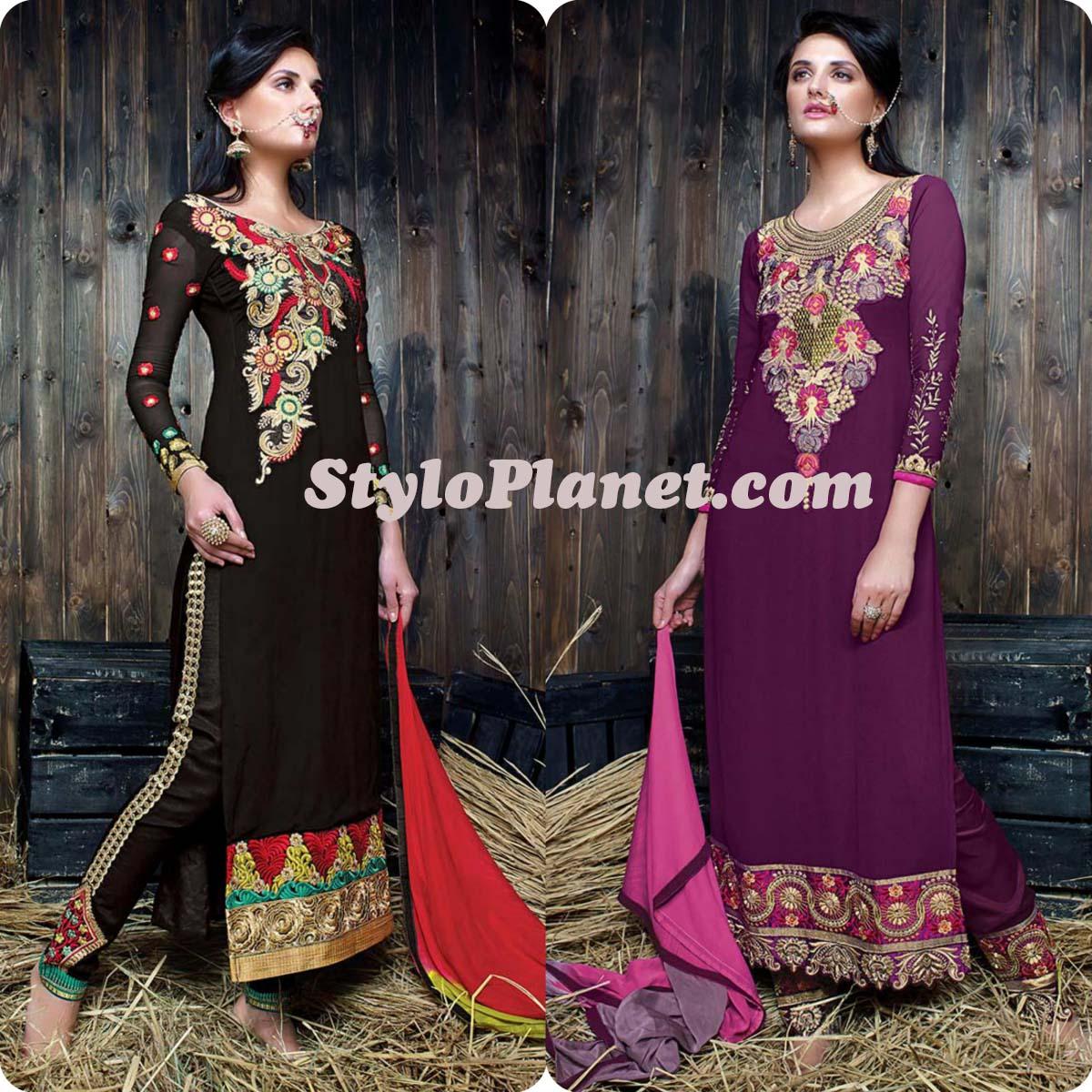 Formal Straight Cut Shalwar design