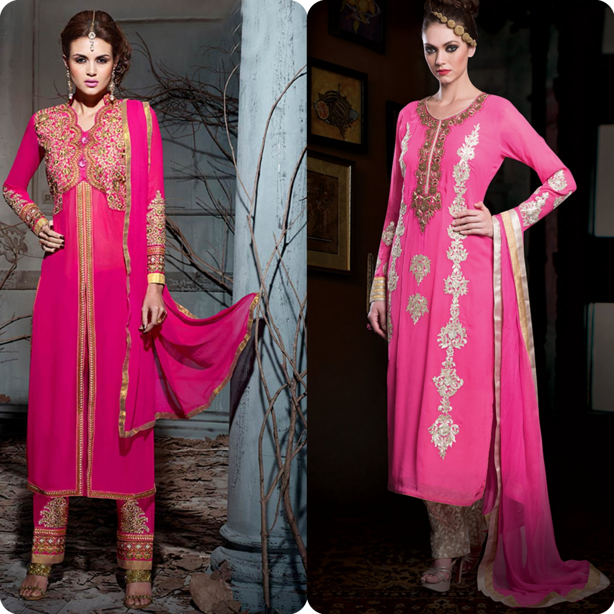 Latest Straight Pant Suits Dresses Design Collection for Women 2016-2017 (9)