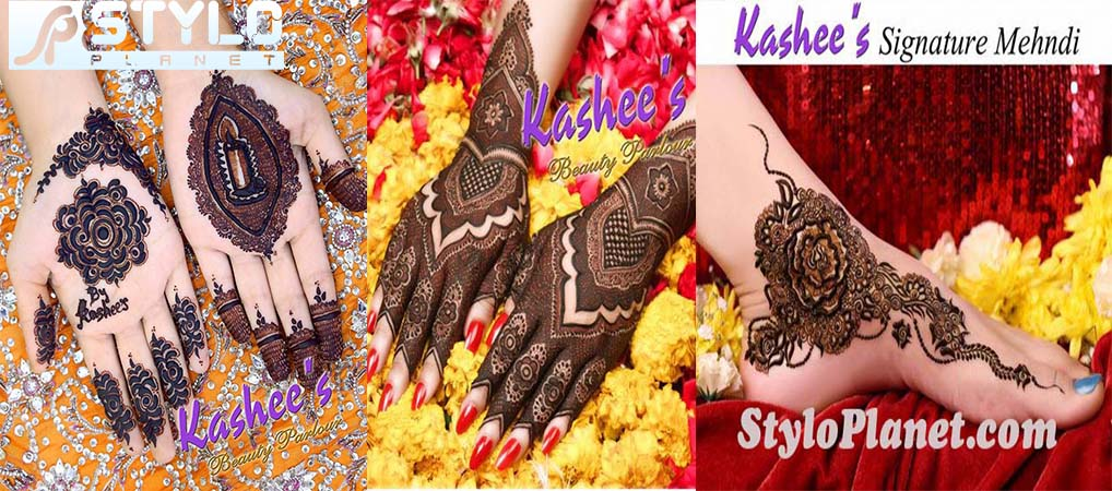 Kasshe's Signature Mehndi Designs Collection for Eid 2016-2017