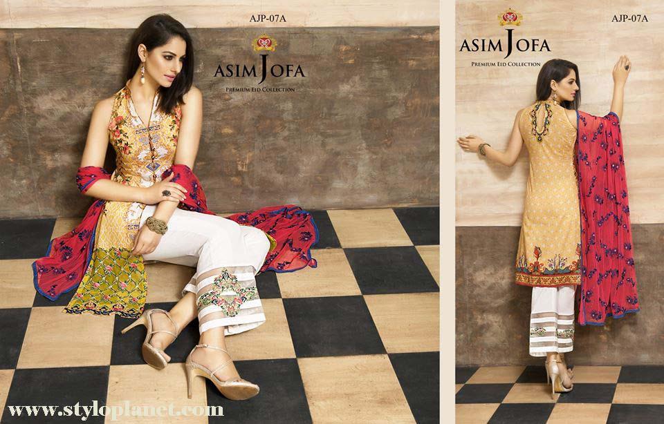 Asim Jofa Luxury Premium Eid Dresses Collection 2016 -2017 Catalog (9)