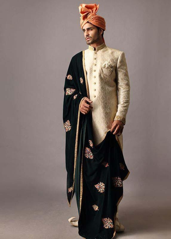 deepak-perwani-groom-barat-dresses-2016