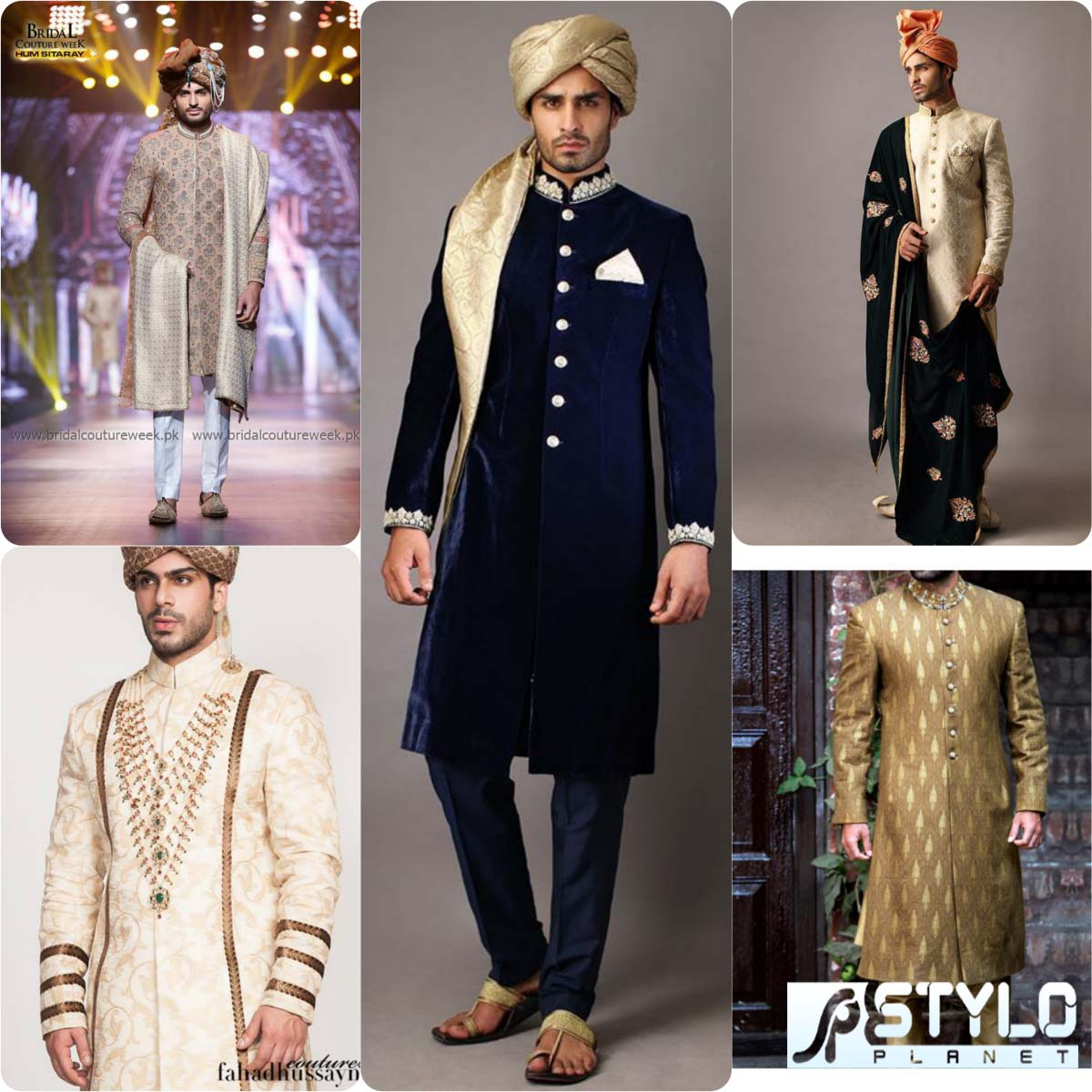 Famous Pakistani Designers Groom Wedding Dresses Stylo