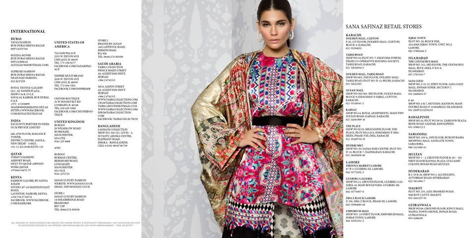 Sana Safinaz Silk Dresses Design for Women 2016-17 Eid Collection (15)