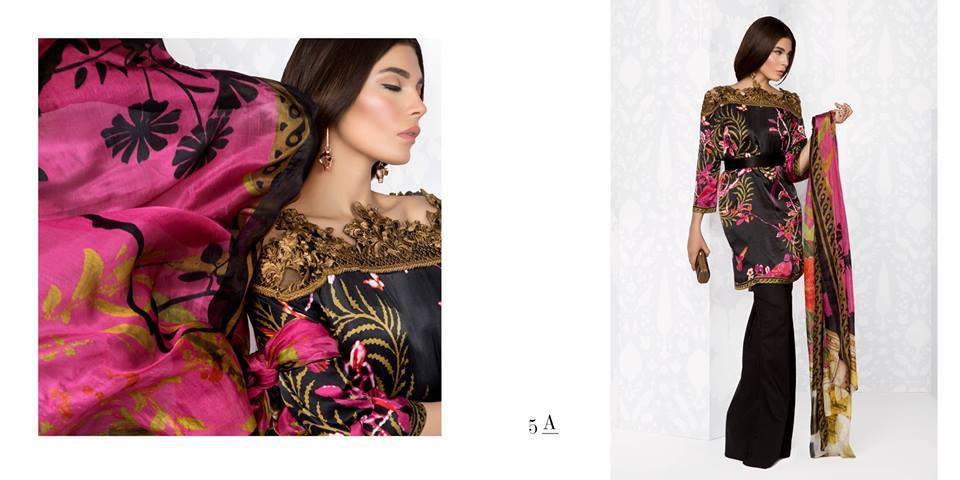 Sana Safinaz Silk Dresses Design for Women 2016-17 Eid Collection (2)