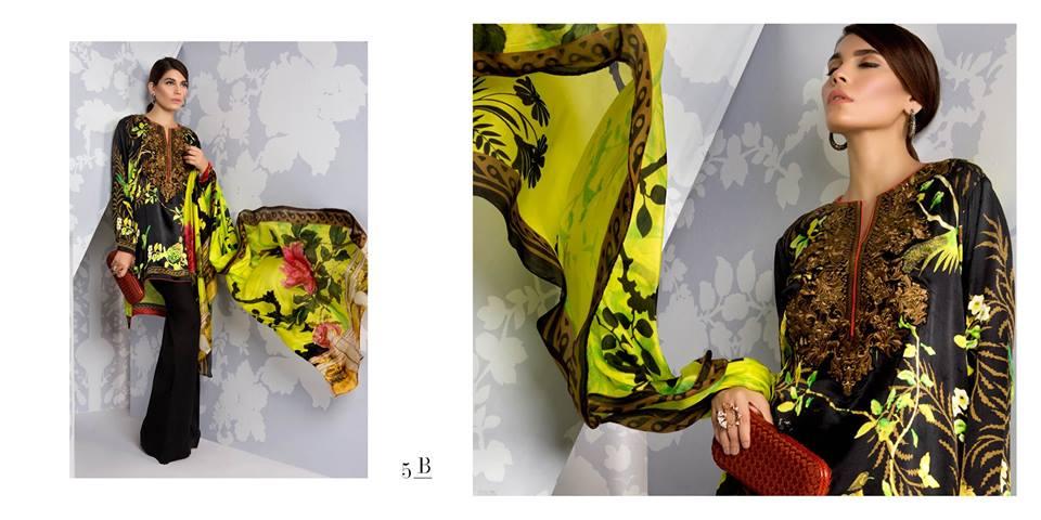 Sana Safinaz Silk Dresses Design for Women 2016-17 Eid Collection (5)