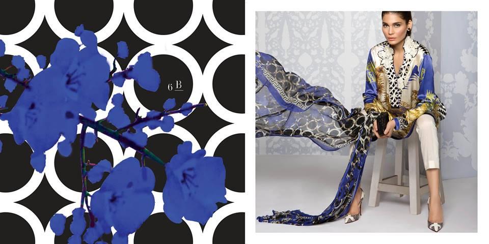 Sana Safinaz Silk Dresses Design for Women 2016-17 Eid Collection (6)