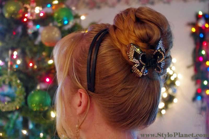 Christmas Bun Hairstyles
