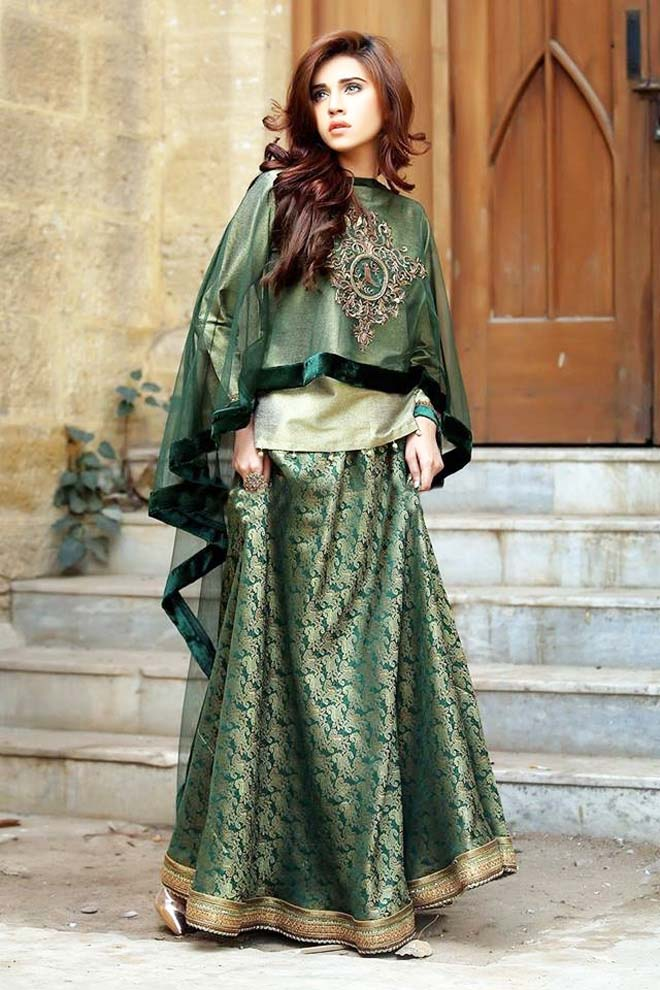 cape-style-dresses-for-women-by-pakistani-designers-2016-2017-4