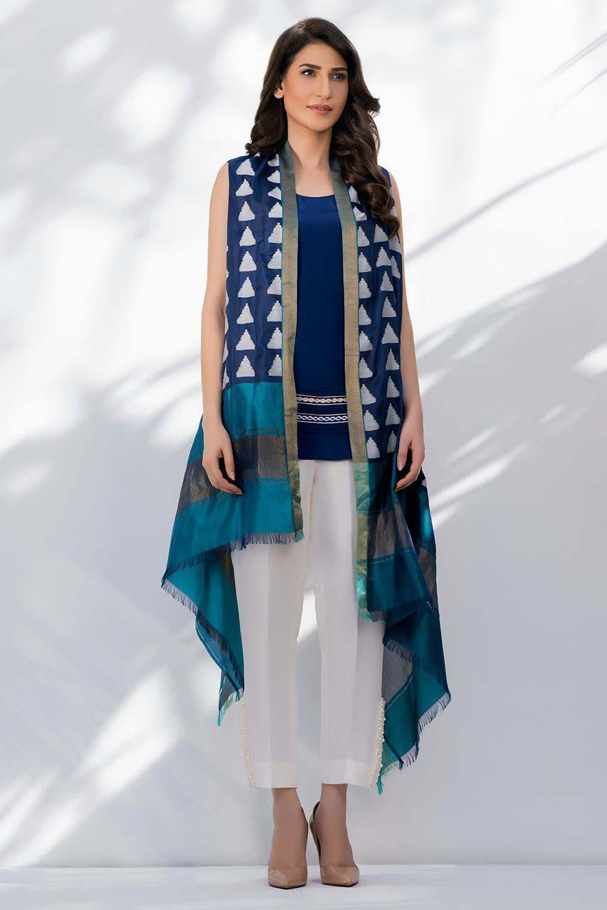 Pakistani Latest Cape Style Dresses Trends 2016 Stylo Planet