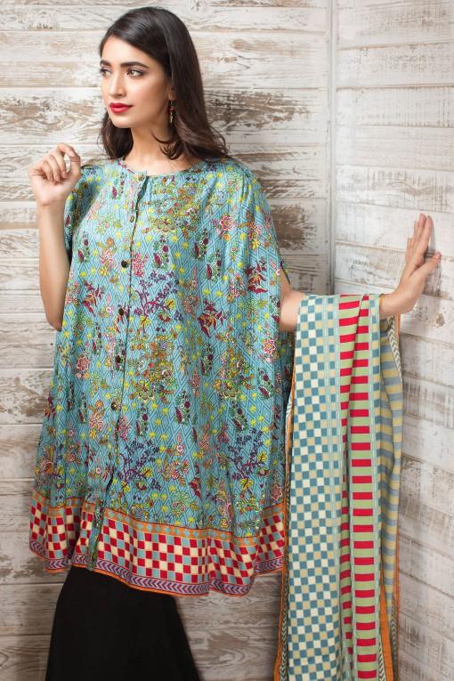 Khaadi Winter Wear Dresses Design 2016-2017 Collection for Women
