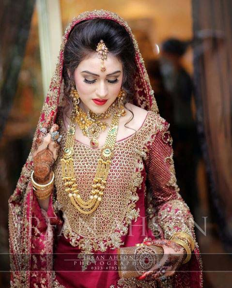 Latest Bridal Dresses Designs & Trends 2016-2017 Collection for Wedding Brides
