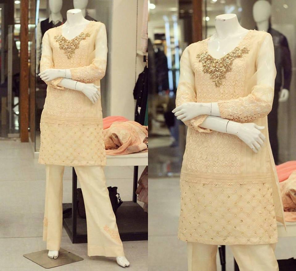 stylish-pakistani-designers-dresses-with-bell-bottom-pantstrousers-2017-1