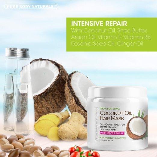 Coconut Oil and Argan Oil for Hair Growth