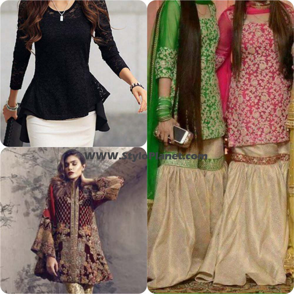 Latest Designers Tops/Shirts Designs & Trends 2018-2019 Collection