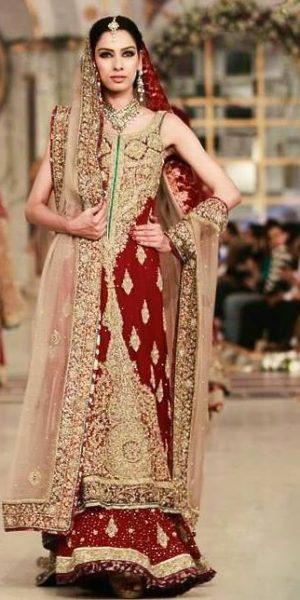 Top 10 Popular Pakistani Designers Bridal Dresses Collection 2017 (2)