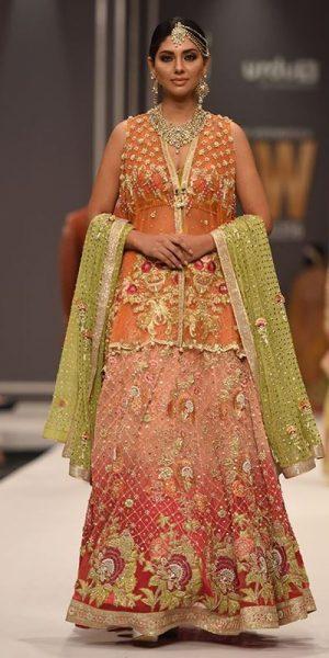 Top 10 Popular Pakistani Designers Bridal Dresses Collection 2017 (4)