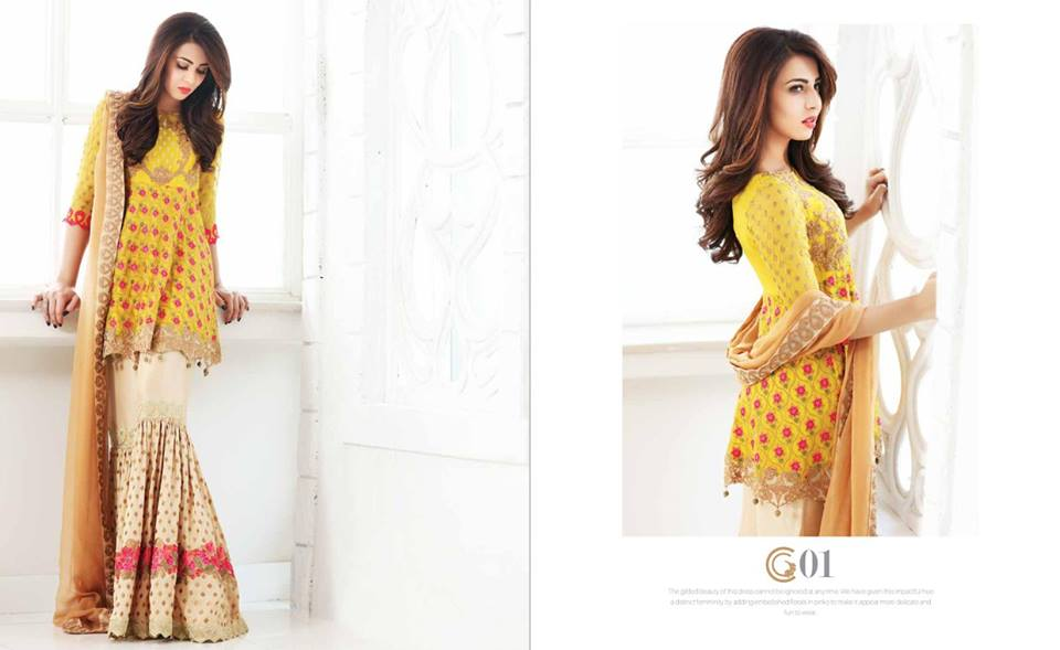 Latest Party Wear Dresses by charizma
