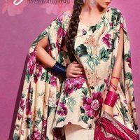 Gul Ahmed Summer Silk & Chiffon Dresses Collection 2017-2018 (3)
