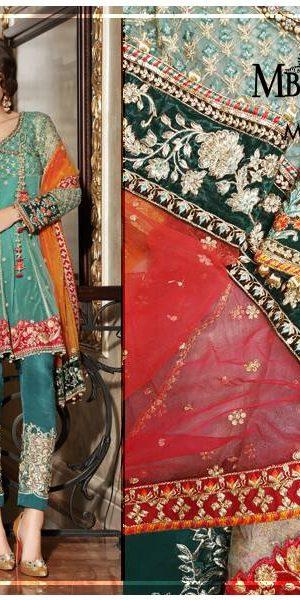 Maria.B Latest Bridal Wedding Dresses Collection 2017-2018 (1)