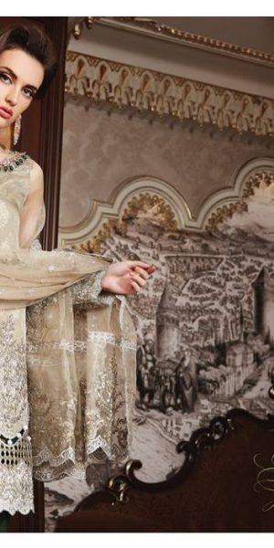 Maria.B Latest Bridal Wedding Dresses Collection 2017-2018 (10)