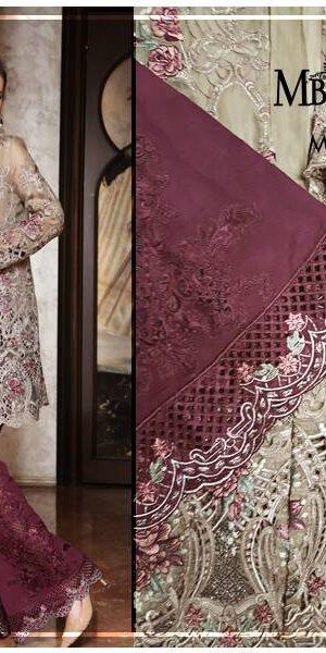 Maria.B Latest Bridal Wedding Dresses Collection 2017-2018 (12)