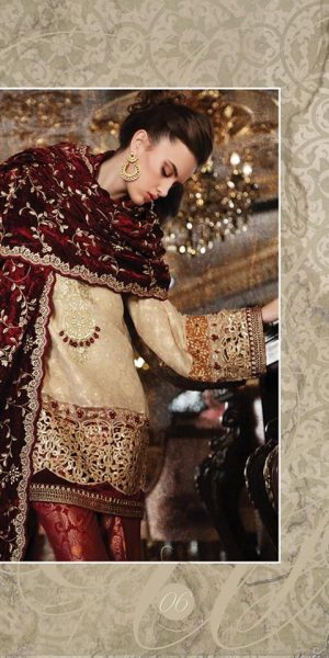 Maria.B Latest Bridal Wedding Dresses Collection 2017-2018 (14)