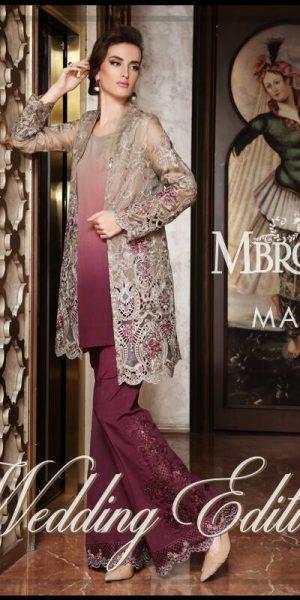 Maria.B Latest Bridal Wedding Dresses Collection 2017-2018 (17)