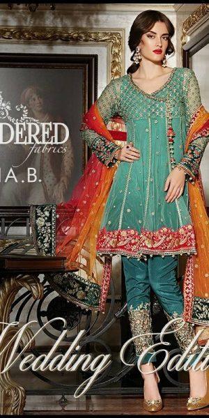 Maria.B Latest Bridal Wedding Dresses Collection 2017-2018 (18)