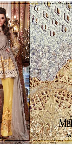 Maria.B Latest Bridal Wedding Dresses Collection 2017-2018 (2)
