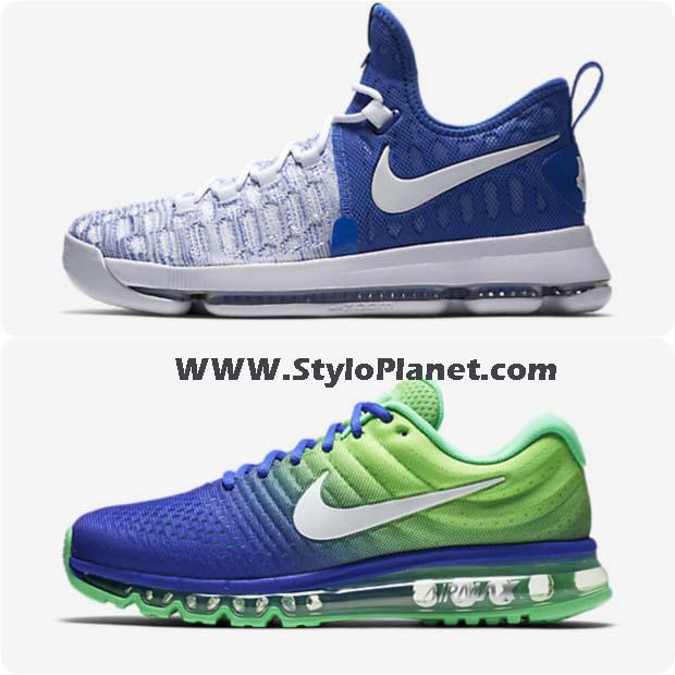 Blue Men Shoes