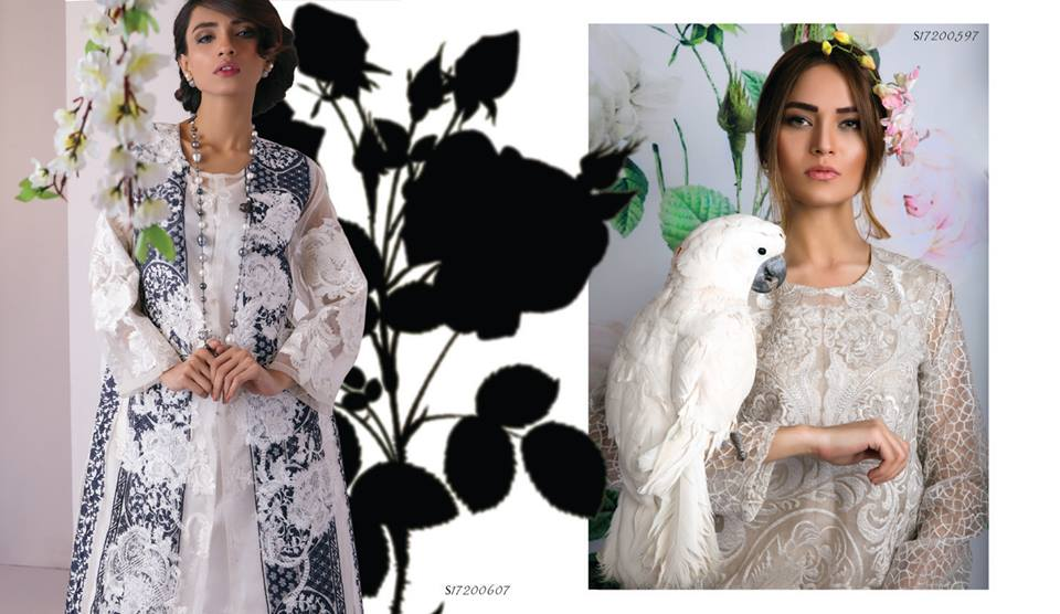 Embroidered Shirts by Sana Safinaz